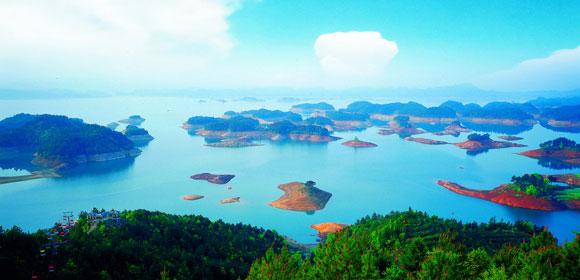 【枕水之旅】千岛湖中心湖、山湾湾(玻璃桥)休闲纯玩二日